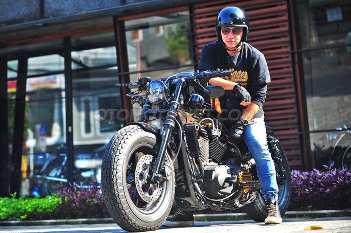Modifikasi Harley Davidson Sportster Gading Marten Spesial Buat Gisel Dan Gempita Gridoto Com