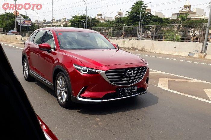 Ilustrasi All New Mazda CX-9 yang merupakan produk termahal Mazda.