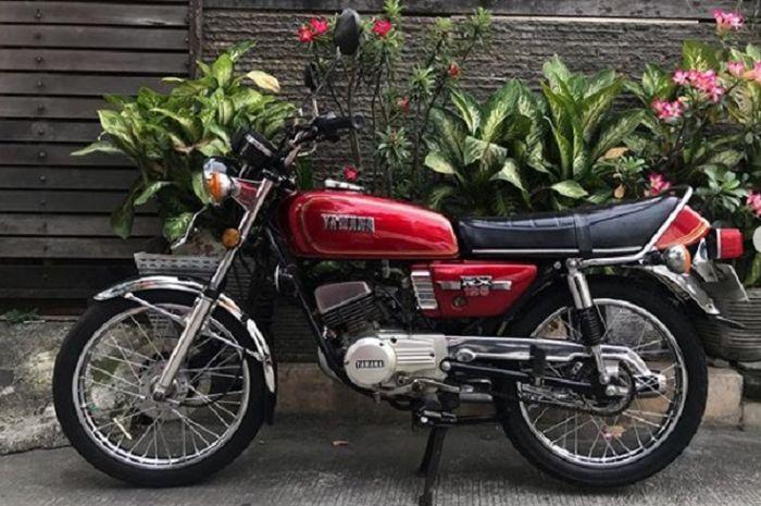 Yamaha RX 125 tahun 1979.