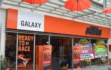 KTM launching Showroom Baru di Galaxy, Bekasi Isinya Komplit Buat Bikers