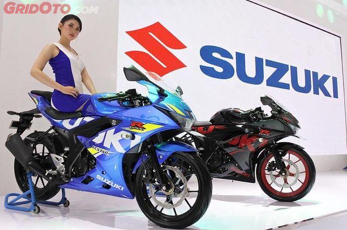 Ilustrasi, Suzuki GSX-R150 salah satu sport 150 cc dari Suzuki