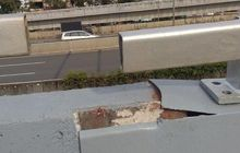Gak Cuma Jembatan Cengkareng B, Flyover Kodim Kemayoran Geser Juga