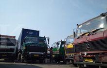 pantas banyak, ternyata segini jumlah pengiriman logistik lewat truk