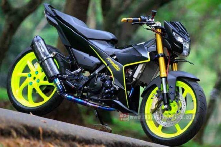 Modifikasi Suzuki Satria F150 Fi Habis Rp 100 Jutaan Ini Rinciannya Gridoto Com