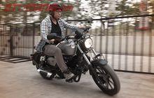 First Impression Benelli Motobi 200 Evo, Tetap Yahud Bermanuver