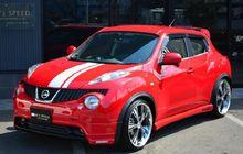 Nissan Juke Tampil Trendi Berkelir Merah Darah Dan Pakai Body Kit