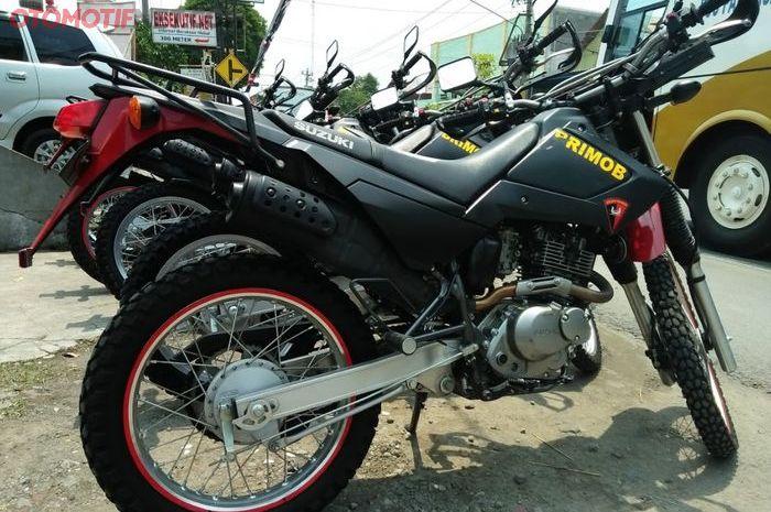 Suzuki DR200S yang digunakan oleh satuan Brimob