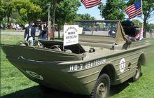 Ford Seagoing Jeep, Dibilang Mobil Tapi Bentuknya Seperti Kapal, Ini Fungsinya Saat Dibuat