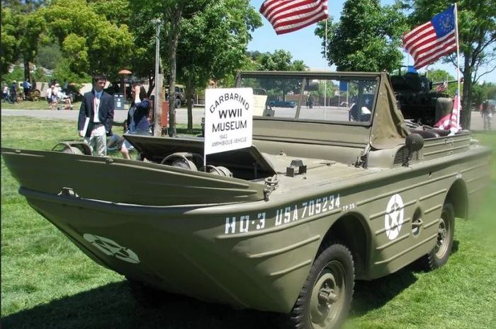 Seagoing Jeep