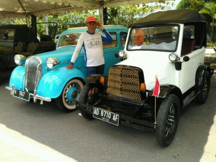 Mobil klasik yang turut mejeng dalam gelaran acara