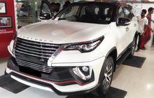 Inspirasi Modif Toyota Fortuner, Pakai Gril Horizontal