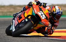 Hasil Balap Moto2 Aragon 2021 - Raul Fernandez Juara, 4 Pembalap Tim Indonesia Terjatuh