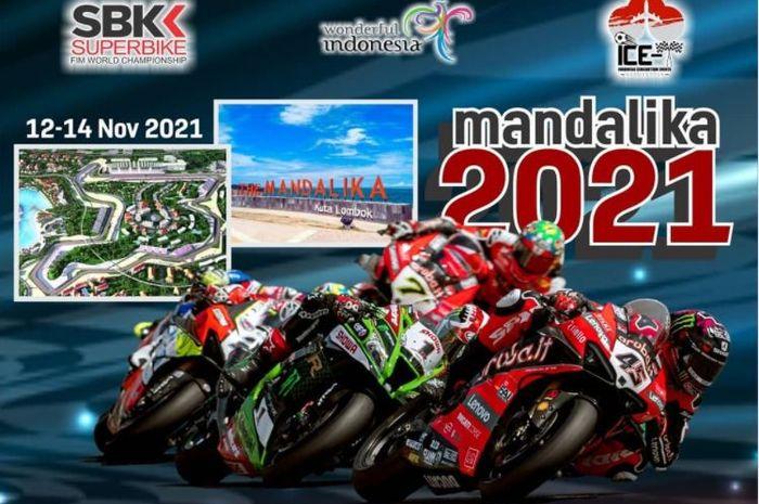 Paket tour nonton WorldSBK 2021 di sirkuit Mandalika, Lombok, NTB