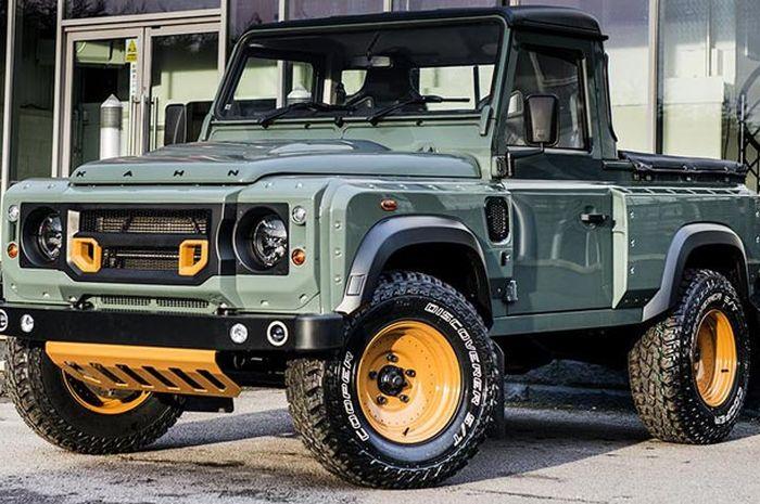 Pikap Land Rover Defender hasil garapan Khan Design