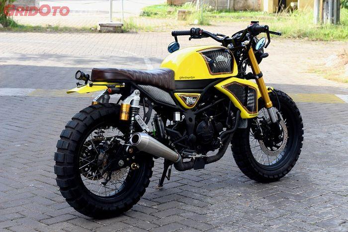 Enggak Tahan Tampilan Standar  Kawasaki Ninja 250 Disulap