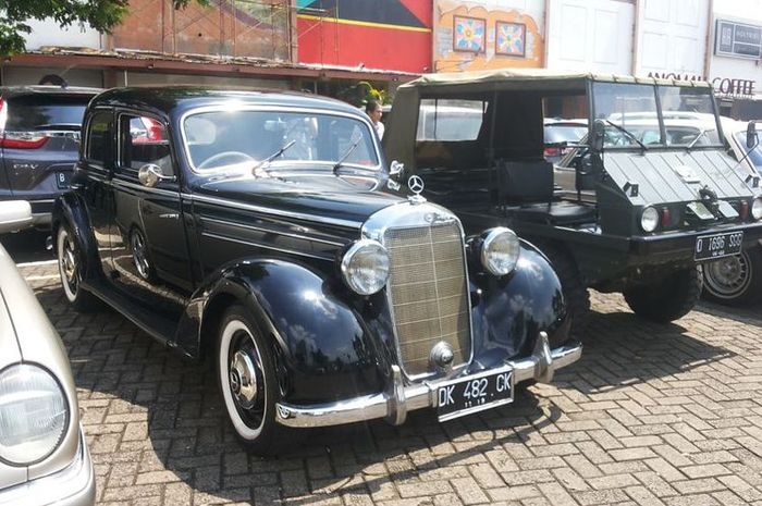 Salah satu contoh mobil klasik