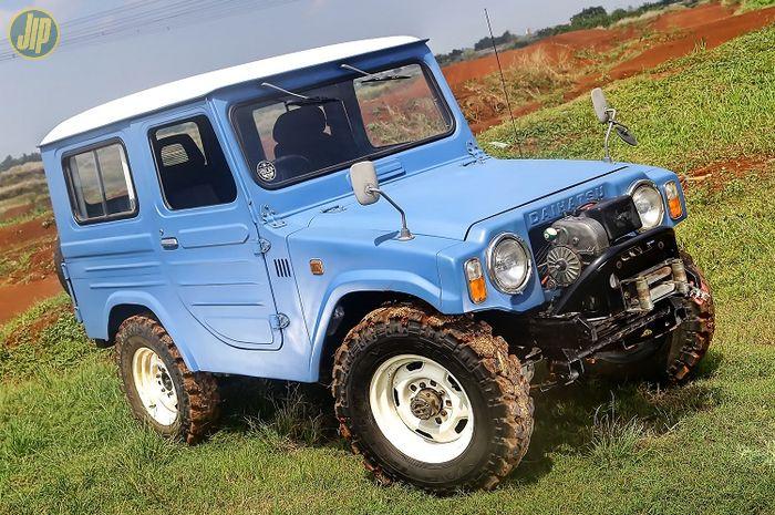Modifikasi  Daihatsu Taft F10 1977 Berawal Dari Spion