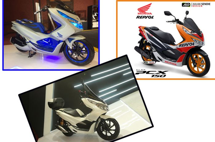 Modifikasi All New Honda Pcx