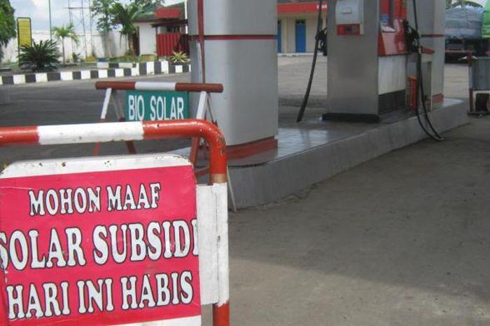 Ilustrasi solar subsidi