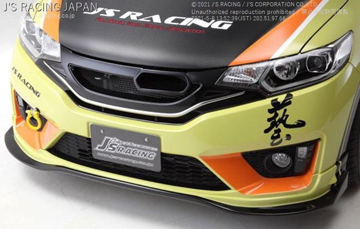 Lips spoiler J's Racing untuk Honda Jazz GK5
