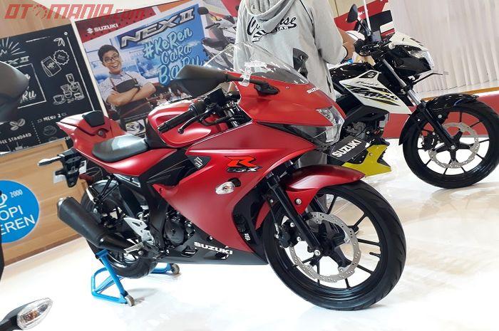 Suzuki GSX-R150 masih prototype