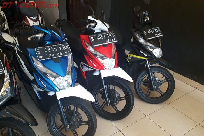Banyak Diburu Honda Beat Bekas Harganya Stabil Tahun 2014 Aja
