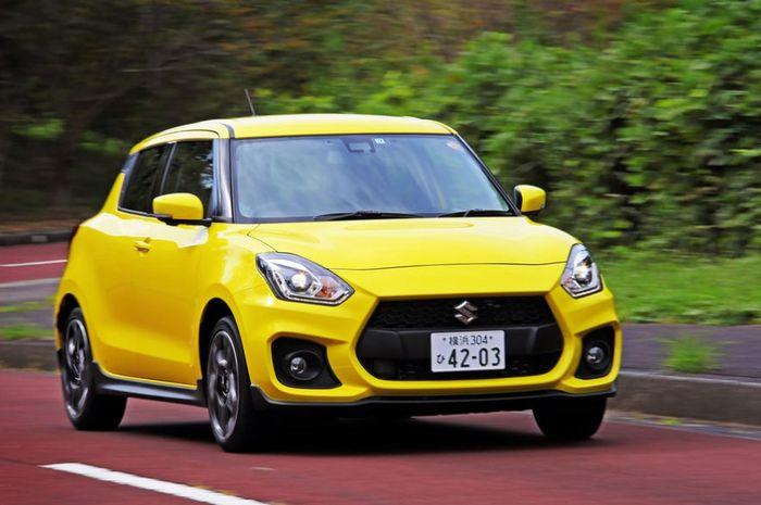 Suzuki Swift generasi baru yang beredar di Jepang