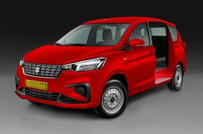 Kocak Kena Juga Nih All New Suzuki Ertiga 2018 Jadi Angkot Gridoto Com