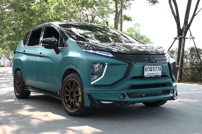 Modifikasi Mitsubishi Xpander dengan gaya sporty