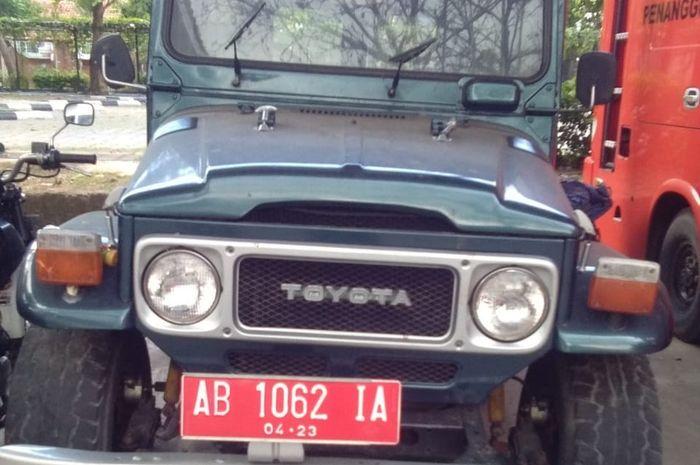KPKNL Yogyakarta akan melelang Toyota Land Cruiser FJ40