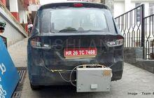 Suzuki All New Ertiga Tetangkap Kamera Sedang Memakai Perangkat Aneh di Jalanan