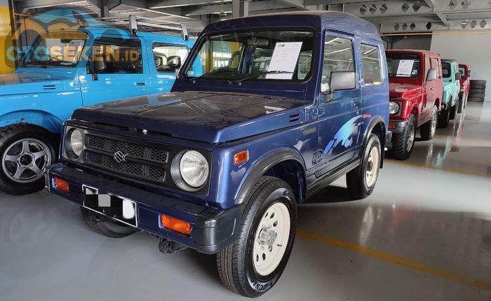 Suzuki Jimny keluaran 2001 4x4, harganya fantastis