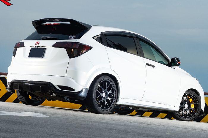 Tampilan belakang modifikasi Honda HR-V
