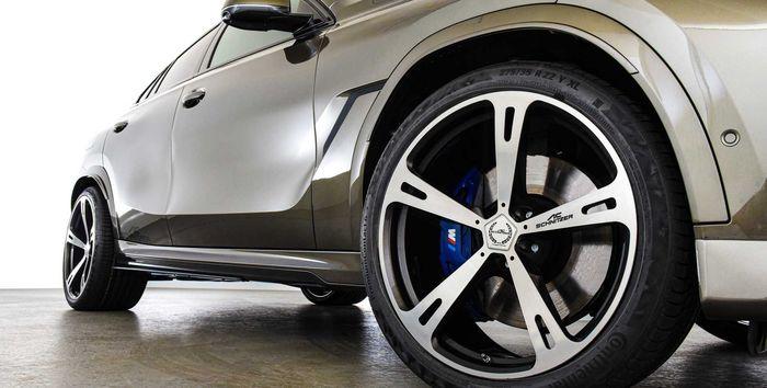 AC Schnitzer menawarkan ragam pilihan pelek khusus untuk BMW X6