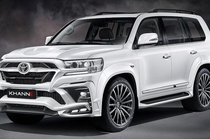 Modifikasi Toyota Land Cruiser pakai body kit Khann