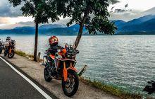 Big Bike Honda Libas Jalur Sumatera, Ngegas Enak Makan Nikmat