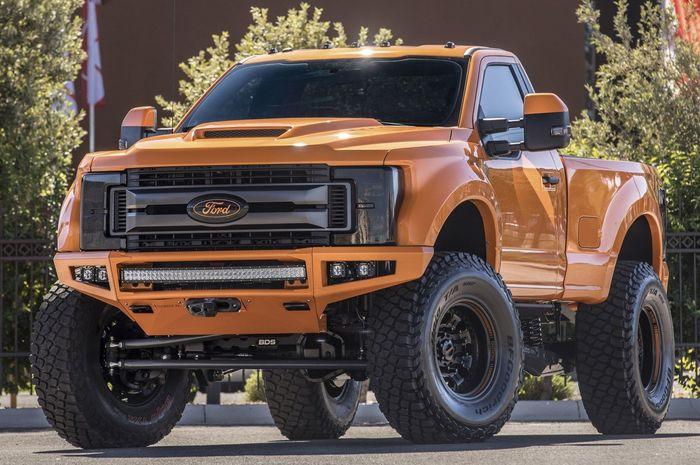 Ford Super Duty >> Pikap Monster Dengan Mesin Turbo Diesel Ford F 250 Super