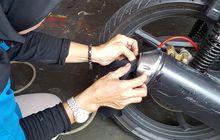 lubang knalpot harus tertutup penuh saat uji emisi motor, ini sebabnya