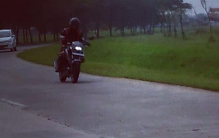 Sosok motor misterius terduga Suzuki Bandit 150