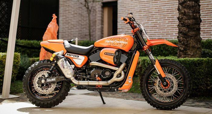 H-D Street 750 modif motocross dari RD Custombikes dan Shaw Speed and Custom