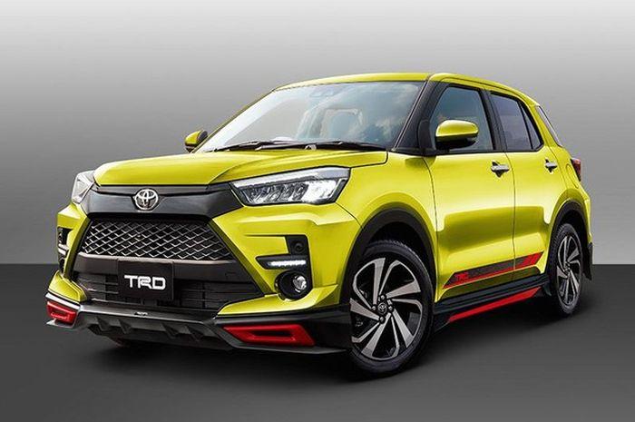 Modifikasi Toyota Raize garapan in-house tuner TRD