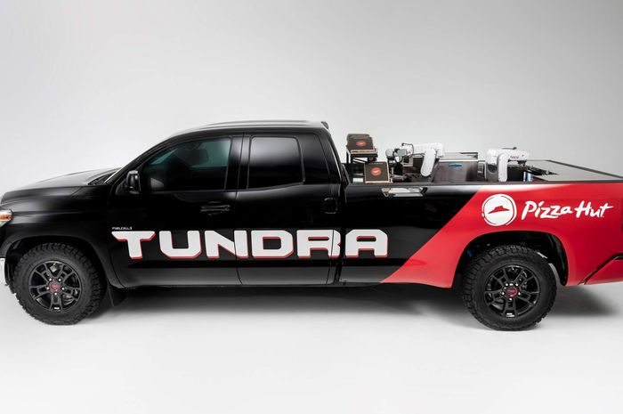 Modifikasi Toyota Tundra dengan mesin hidrogen