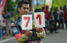 balap tanah air berduka, dhandy latif crash dan meninggal dunia di kejurda road race sulsel