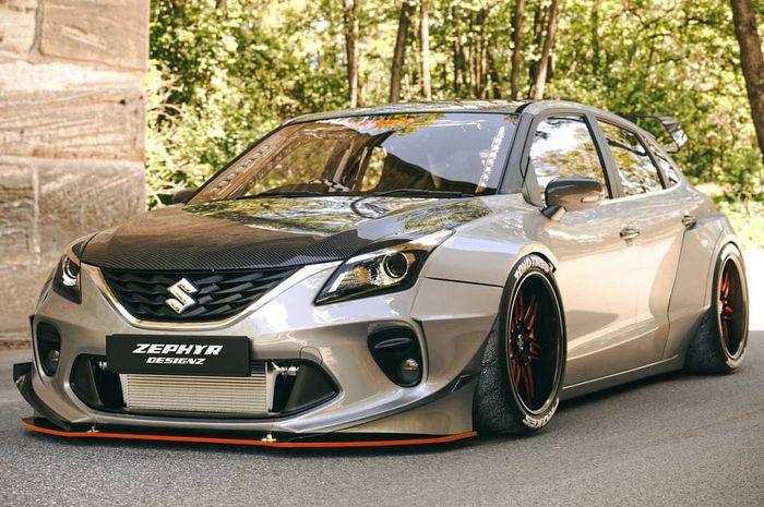 Digital modifikasi Suzuki Baleno beraura Toyota GT86