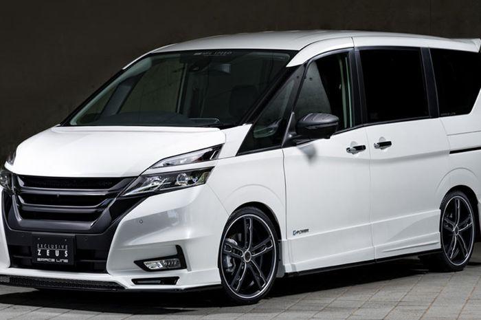 Inspirasi modifikasi Nissan Serena terbaru dari Mz Speed