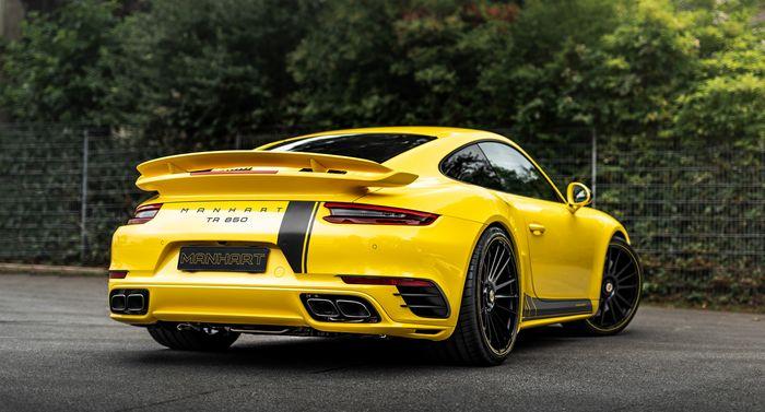 Porsche 911 Turbo S bertenaga 838 dk dan torsi 1.090 Nm