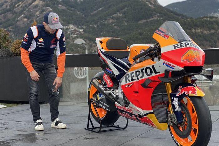 Pol Espargaro sudah berseragam tim Repsol Honda