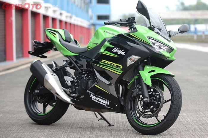Ups Kawasaki Ninja 250 Warna Hijau Enggak Dilirik Terus Warna Apa