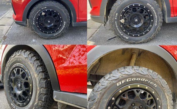Modifikasi Daihatsu Rocky gaya semi off-road berfokus ganti setup kaki-kaki