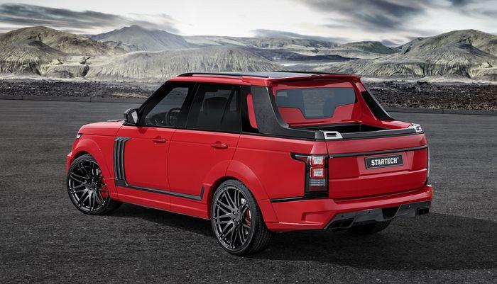 Range Rover berubah jadi pikap double cabin